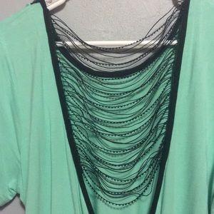 BKE Tops - Seafoam green top